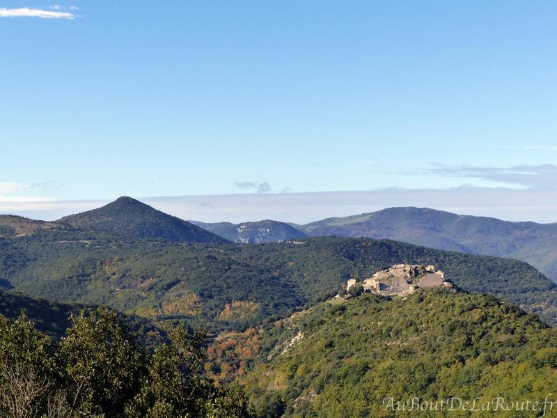 Vue sur le chateau de Termes