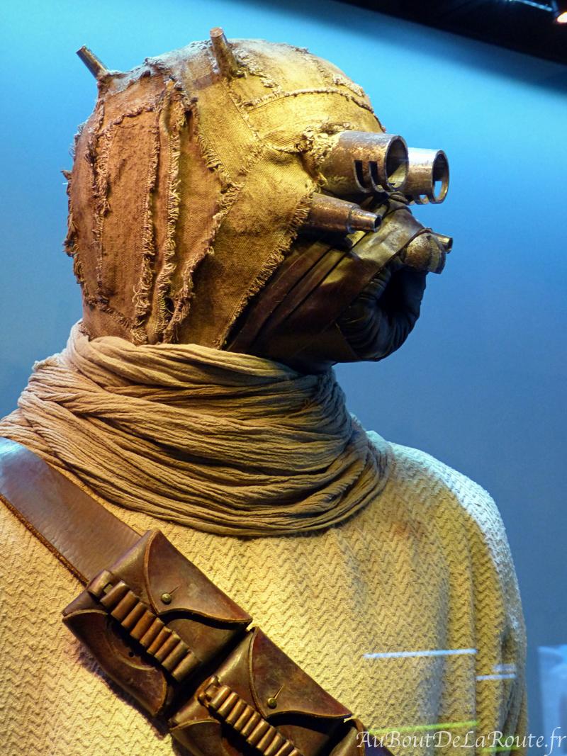 Costume d'un Tusken, homme des sables