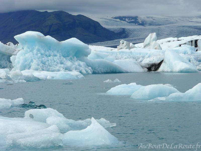 Lagune glaciaire du Jokulsarlon