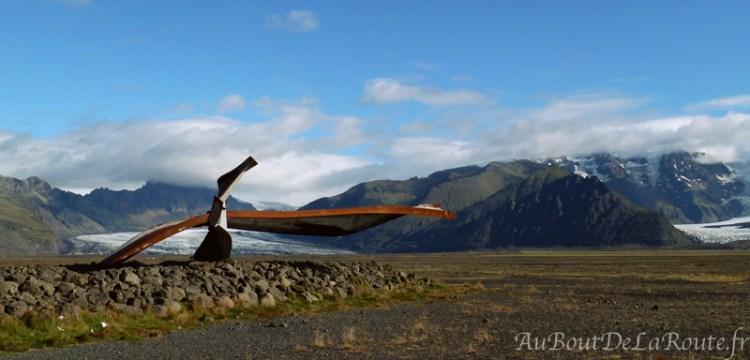 Mémorial de l'éruption du Grímsvötn
