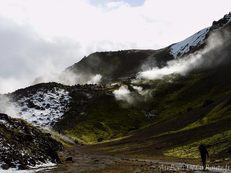 Zone geothermique du Breinnisteinsalda