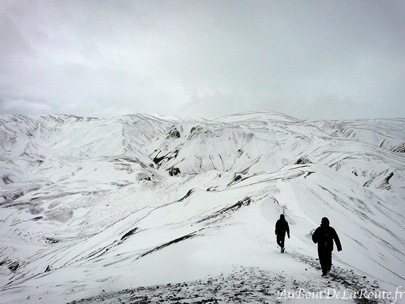 Descente du Mont Blahnukur