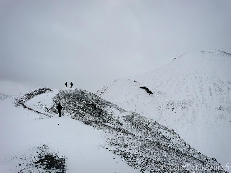 Vers le Mont Blahnukur