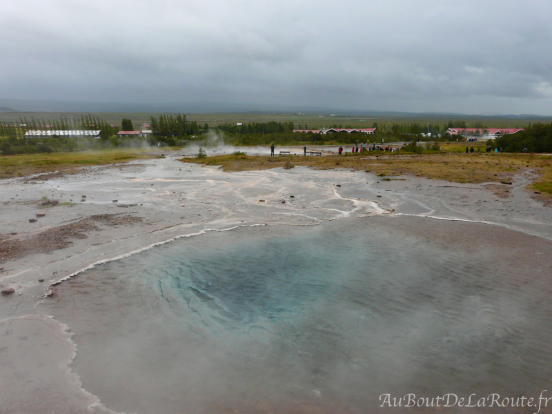 Source d eau chaude Blesi