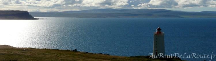 Vue sur les fjords de l'Ouest