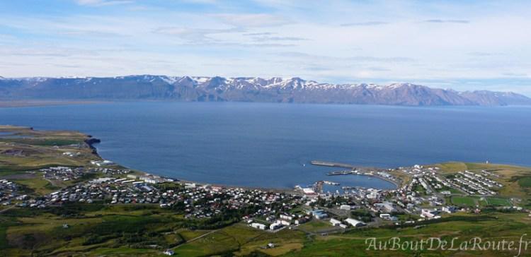 Panorama sur Húsavík