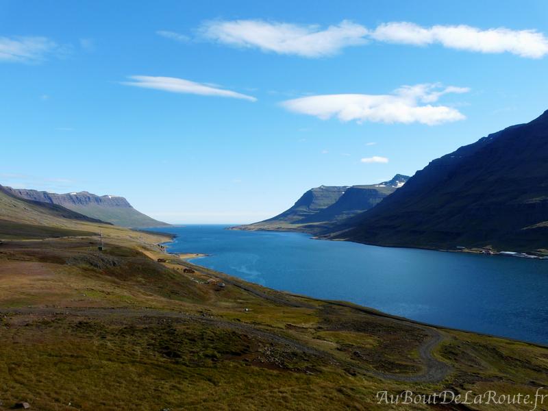 Fjord de Seyðisfjörður