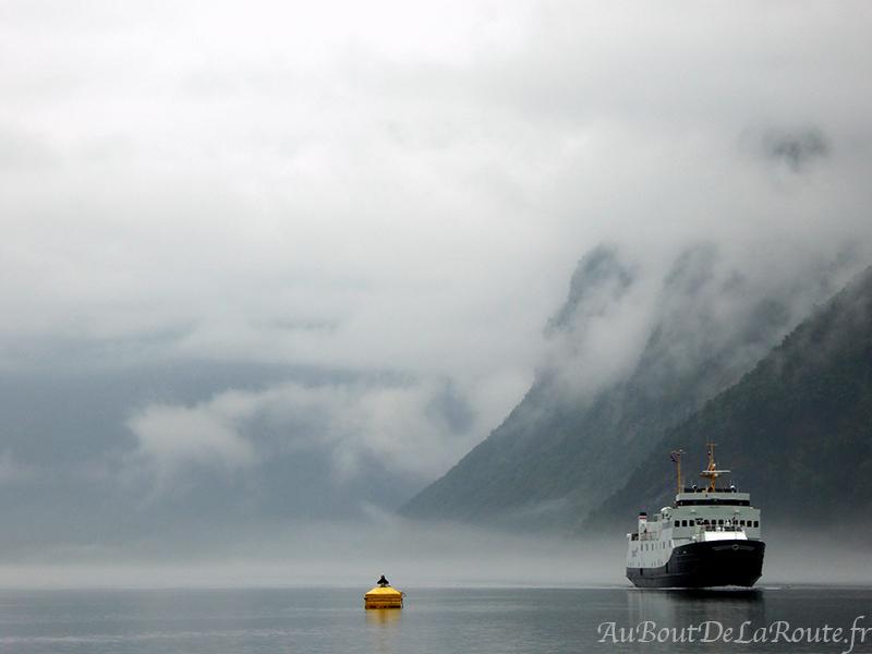 Ferry Hellesylt - Geiranger