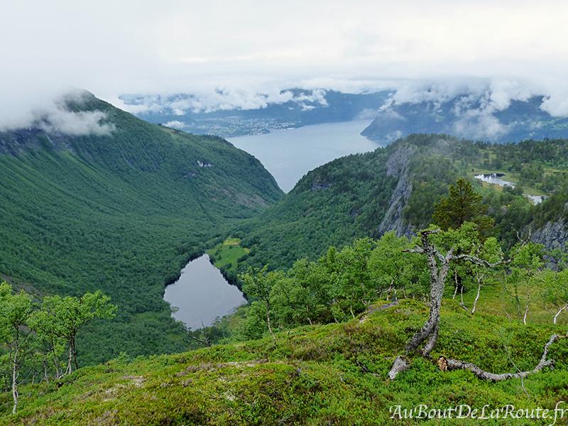 Vue sur le Sunnylvsfjord
