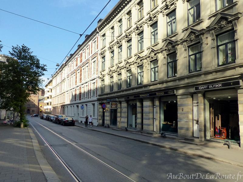 Ligne tramway Oslo