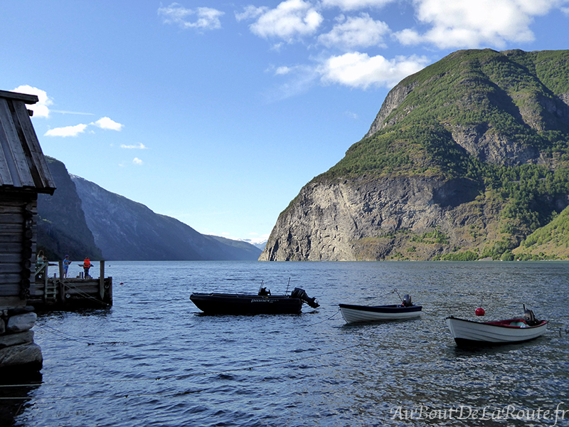 Aurlandsfjord a Undredal