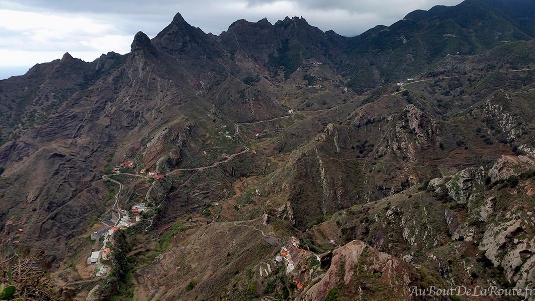 Vue sur Afur et El Fronton