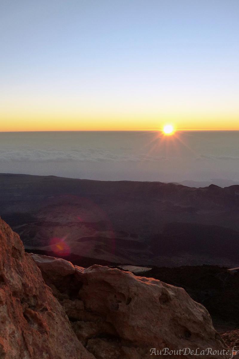 Lever soleil Teide
