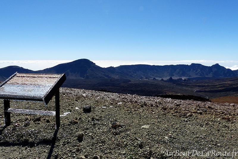 Panorama depuis montana blanca