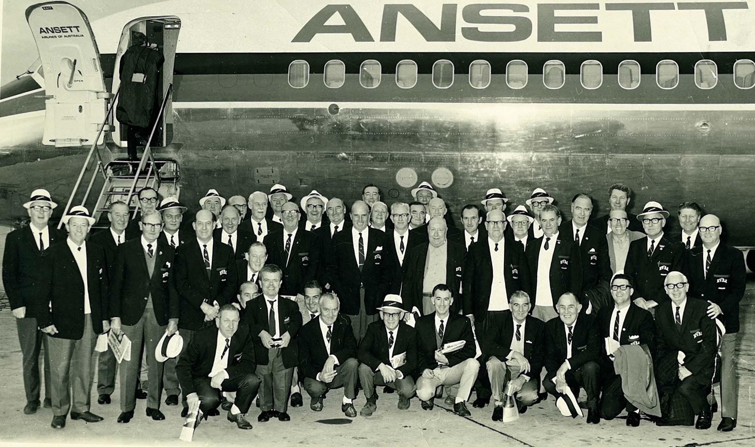Auburnbowlers Syndey Trip 1974