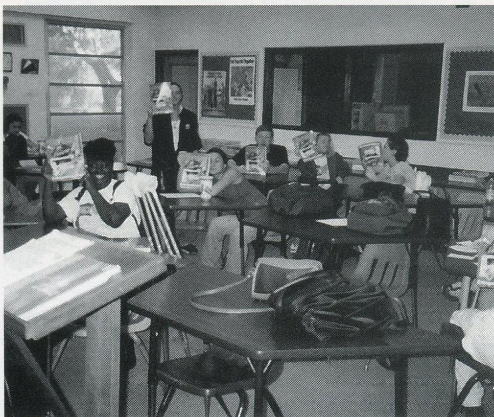 DECA room, 1999