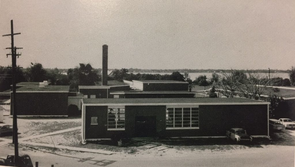 Back of the 50s hall, 1965