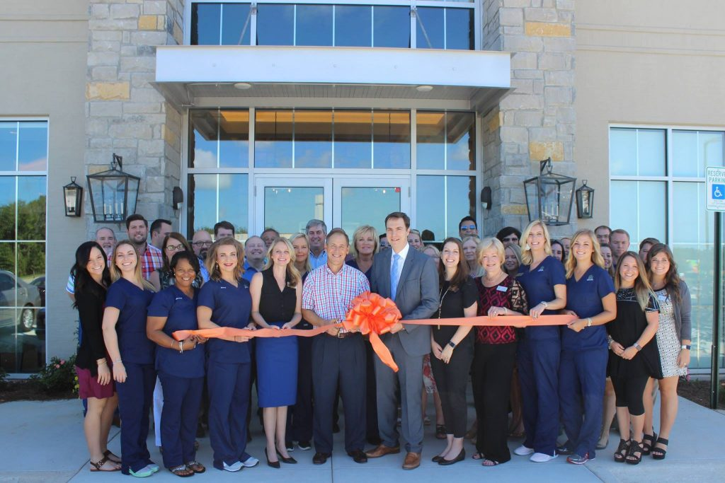 auburn med spa ribbon cutting