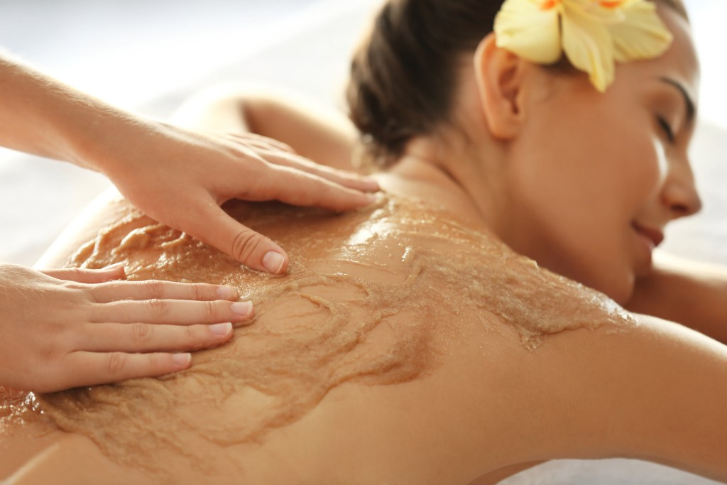 scrub massage