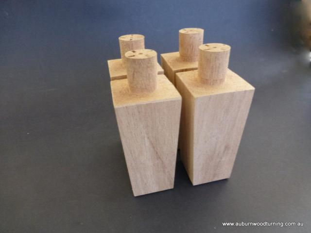 Furniture Leg Extensions  Custom Timber Furniture Raisers