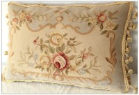 "22""X14"" Aubusson Pillow Shabby French Chic Sofa Chair ..."