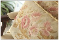 18x14 SHABBY PINK CHIC Aubusson Pillow French Home Decor ...