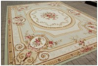 3X5 Aubusson Area Rug - ANTIQUE FRENCH PASTEL Wool ...