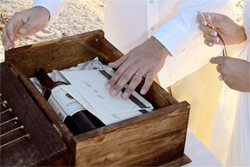 Love Letter Wine Box Ceremony Wedding traditions and rituals