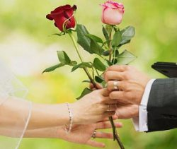 Rose Ceremony in Wedding traditions and rituals