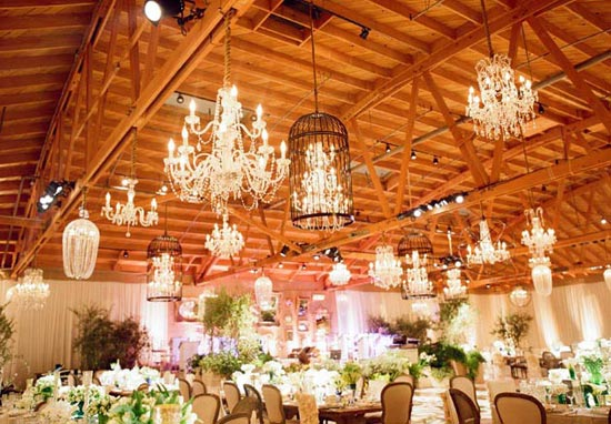 Top Wedding Trends in 2016 is Bold Lighting