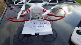 A unique birthday message