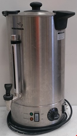 Roband 10 Litre Double Skinned Stainless Steel Hot Water Urn