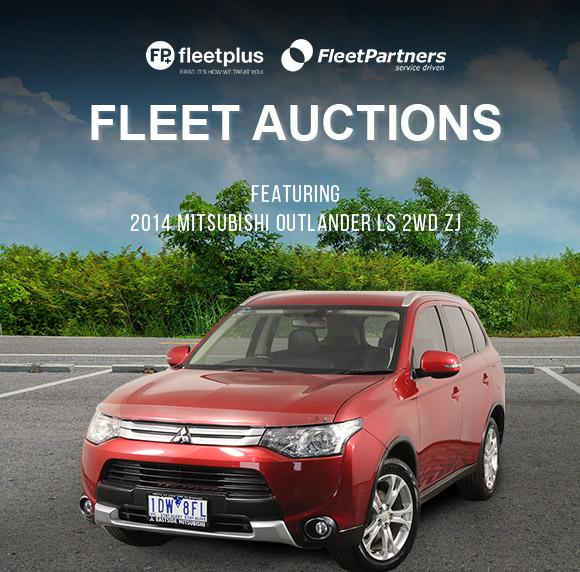 Fleet Auctions | Featuring 2014 Mitsubishi Outlander LS 2WD ZJ CVT Wagon