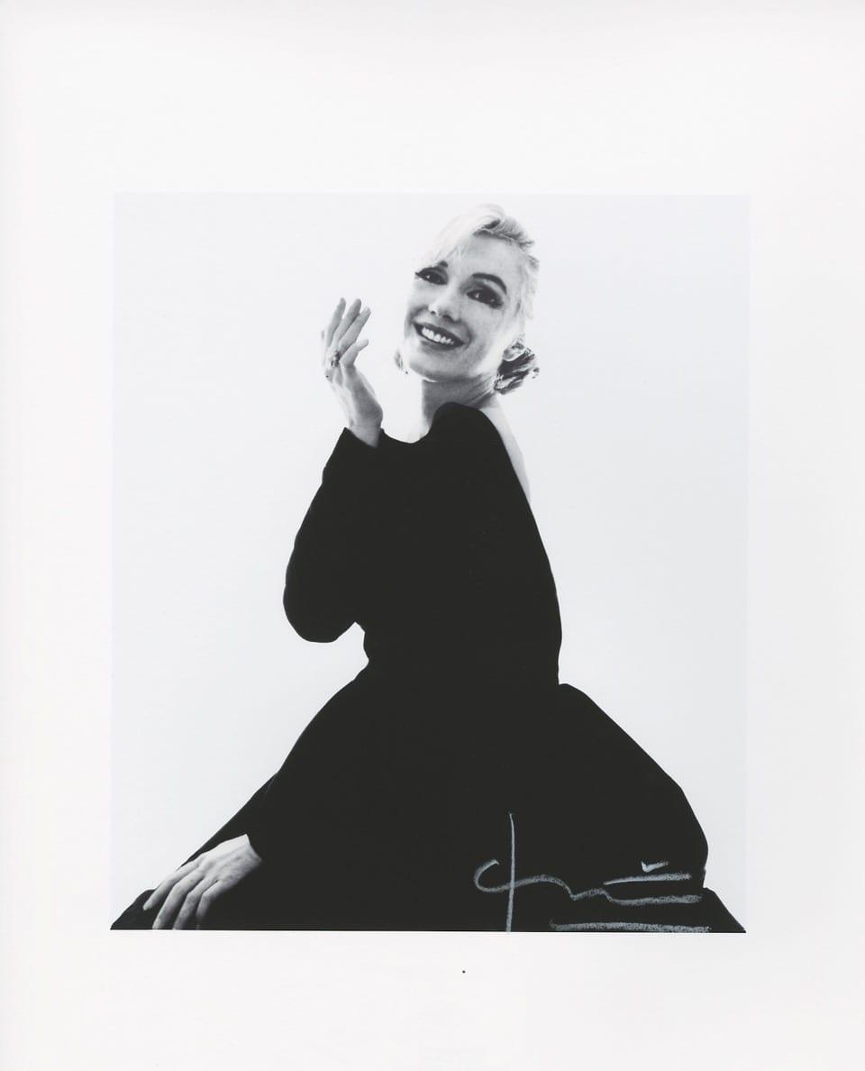 Bert Stern- Marilyn new black dress - Photography