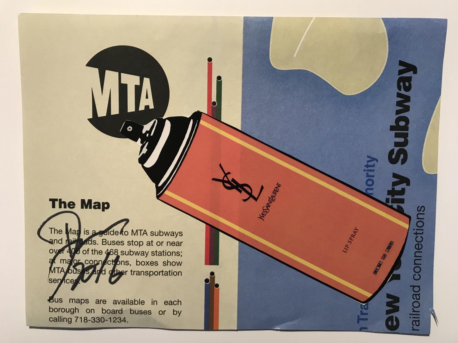 Death NYC - NYC:YSL subway map
