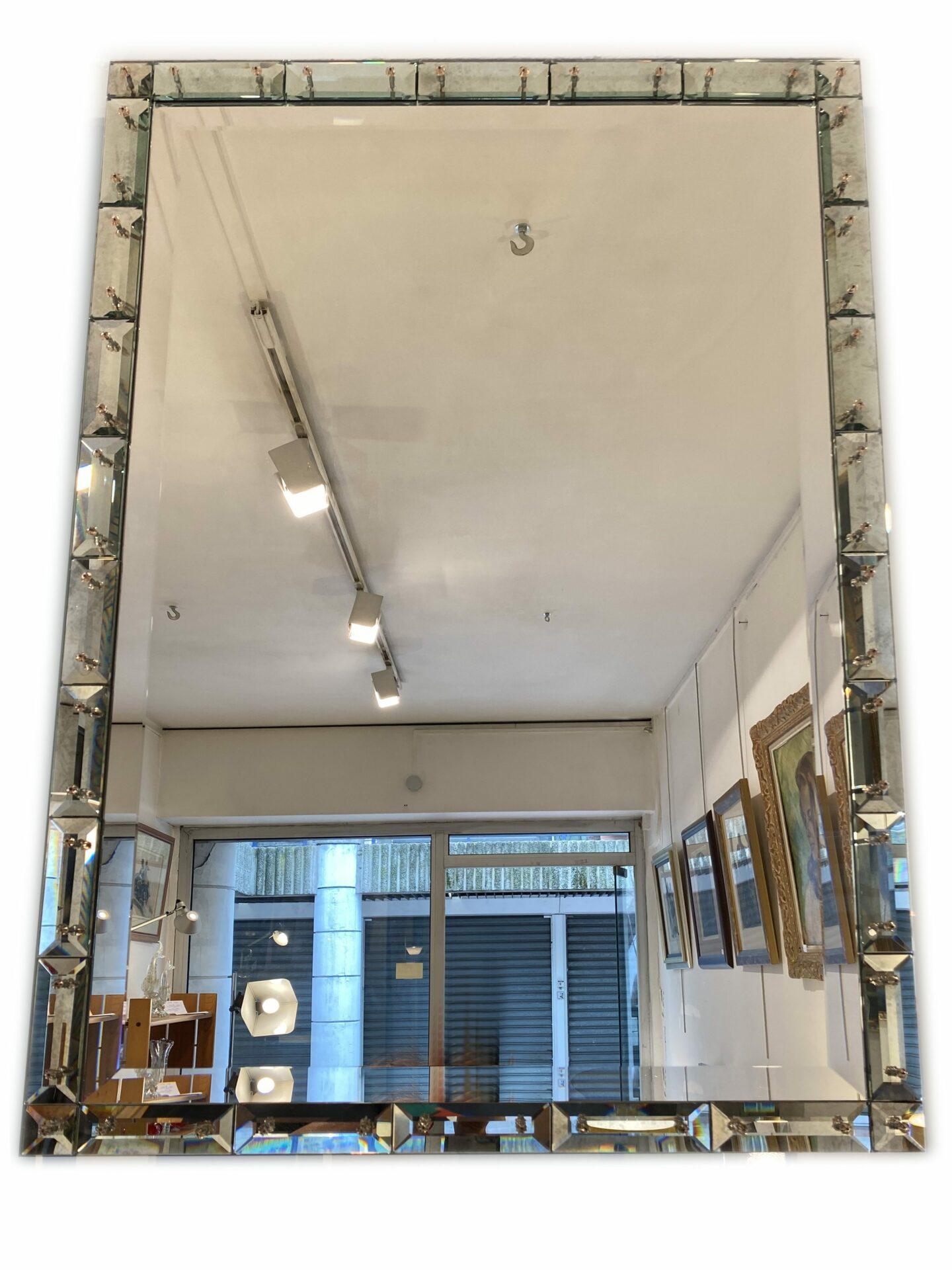 Miroir Murano - Pourtour Murano taillé