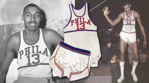 finest selection 06d9c fc625 Historic 1959-60 Wilt Chamberlain Philadelphia Warriors ...