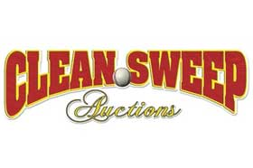 Clean Sweep Major Auction of Memorabilia and More Ends August 7-8, 2019