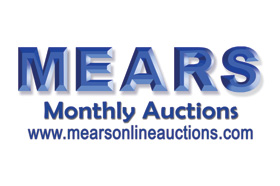 MEARS Auction of Memorabilia and More Ends March 30, 2019