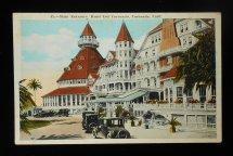 1920s Main Entrance Hotel Del Coronado Antique Cars