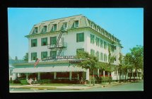 1950s Grand Atlantic Hotel And Cafeteria Main & Beach