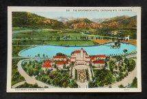 1920s Aerial View Broadmoor Hotel Colorado Springs