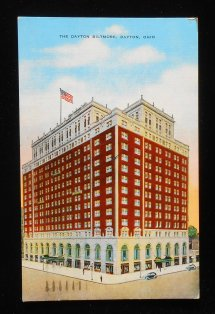 1949 Dayton Biltmore Hotel Montgomery