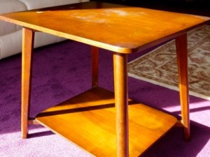 1960's television table