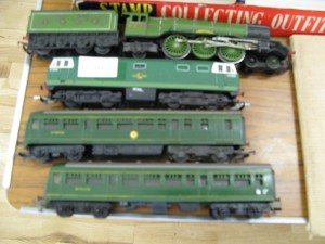 Two Hornby Duplo Engines and Two Carriages