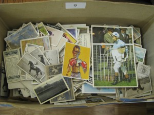 Lot 9 - Collection of Sporting cigarette and others - Sold for £30