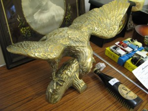 Lot 66 - Brass Eagle - Sold for £30