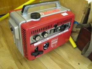 Lot 209 - Honda Electric Generator E300 - Sold for £32