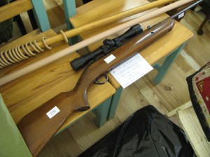 Lot 220 - BSA Air Rifle Scope and Bag