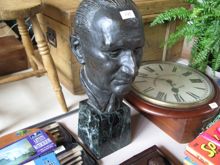 Bronze Bust - Sold for £140